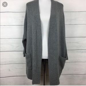 zara knit oversized cardigan *light pink